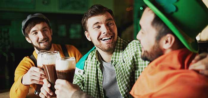 Beber una pinta… o varias en San Patricio