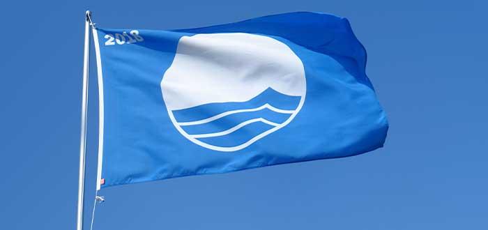 blue flag en playas maltesas