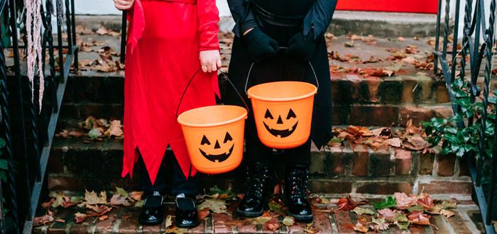 El trick or treat del Halloween en Irlanda